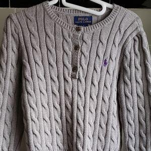Girl's Polo Sweater